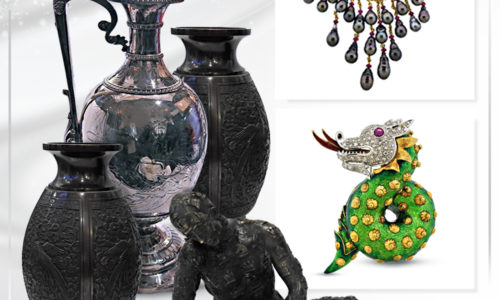 Antiques, Decorative Arts & Jewelry