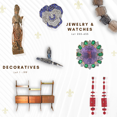 Antiques, Modern, Jewelry And Watches
